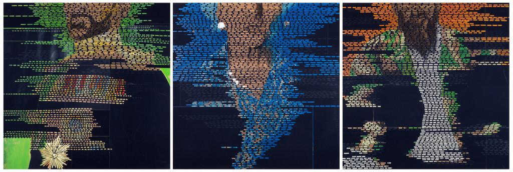 25 - Trois Surfaces I Triptych (2008)